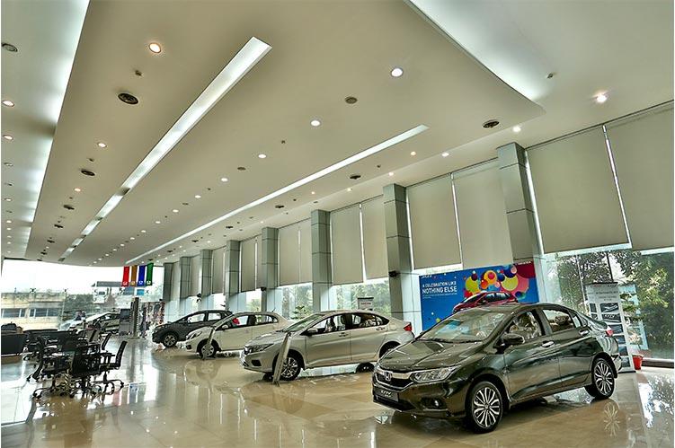 Honda Dealers And Showrooms In Chandigarh Panchkula Harmony Honda - Car showroom