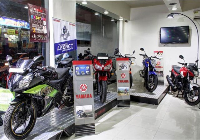 yamaha showroom and workshop images