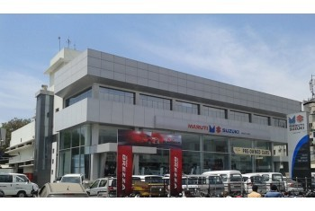 Amar Cars Gorwa Showroom - Exterior