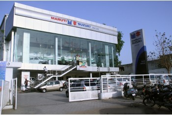 Amar Cars KareliBaug Showroom - Exterior