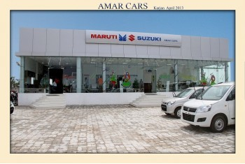 Amar Cars Karjan SHowroom - Exterior
