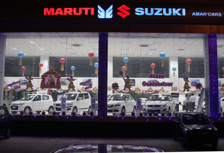 Maruti dealers and showrooms in vadodara amar cars for Maruti 800 decoration