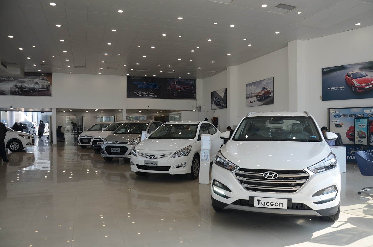Hyundai Showroom And Workshop Images Novelty Hyundai - Hyundai car show