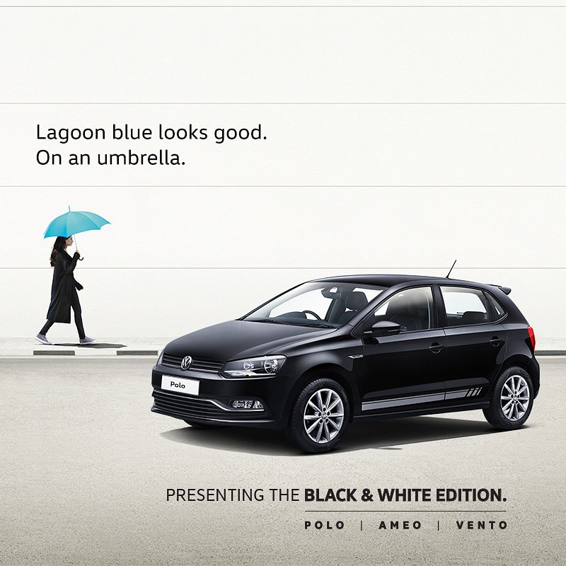 Volkswagen Polo Black & White Special Edition Launched - Volkswagen Hyderabad