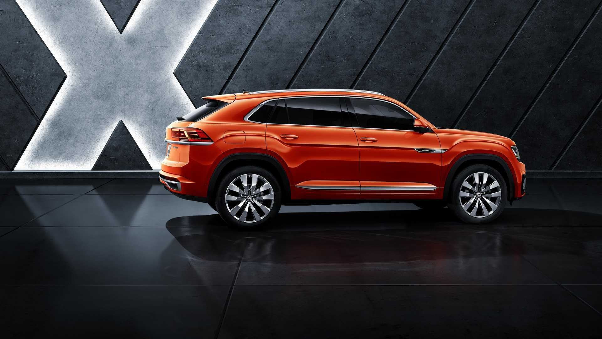 The first glimpse of Volkswagen Teramont Coupe, Prior official release in Shanghai motor Show! - Volkswagen Hyderabad