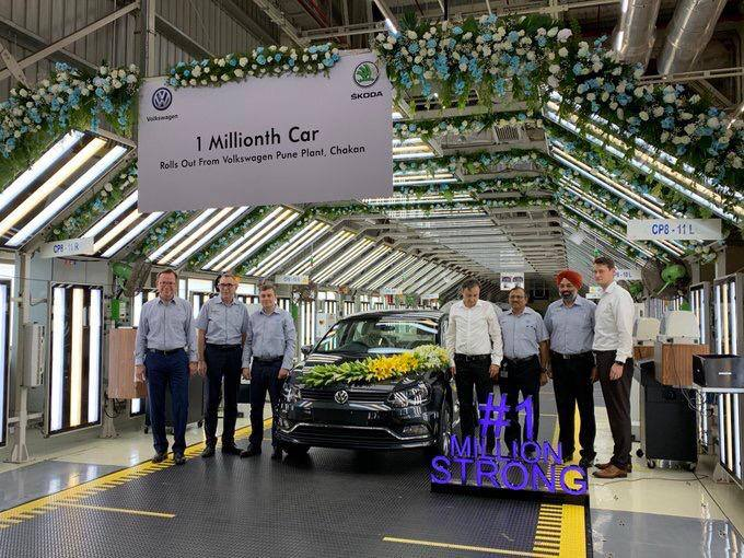 Volkswagen winning Indian heart's over a decade in A million ways! One Million Done!  A lot to go more!  - Volkswagen Hyderabad