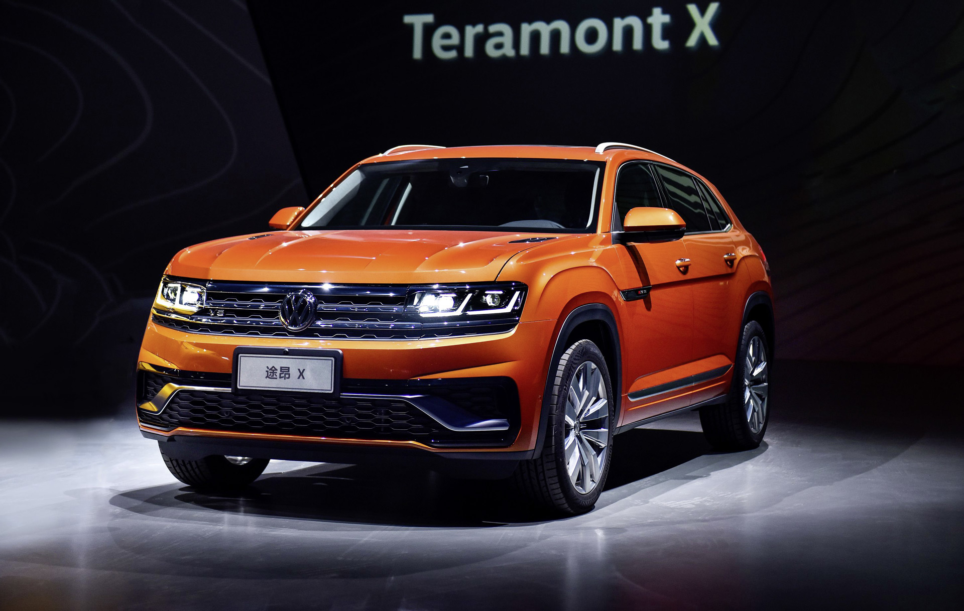 The first glimpse of Volkswagen Teramont Coupe, Prior official release in Shanghai motor Show! - Mody Group