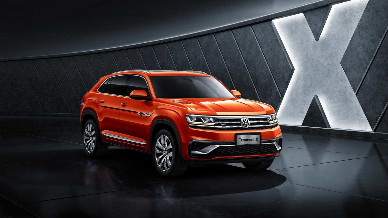 The first glimpse of Volkswagen Teramont Coupe, Prior official release in Shanghai motor Show! - Volkswagen Mumbai